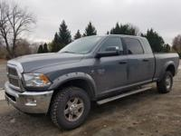 This Ram 3500 delivers a Diesel I6 6.7L/408 engine