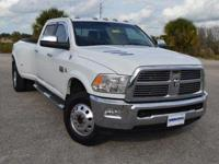 This well maintained, one owner Ram 3500 HD Lariat