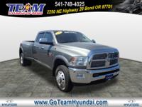 Loaded Laramie!  This truck has exceptionally low miles