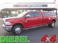 Sophisticated, tough, and stylish, this 2012 Ram 3500