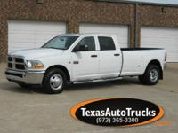 2012 DODGE RAM 3500 CREWCAB DUALLY / SLT WITH CARPET