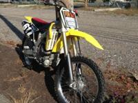 2012 RMZ 450 with low hours. Title in hand! It Has:.
