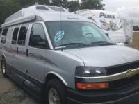 The pre-enjoyed 2012 Road Trek Class B Motor Home Model