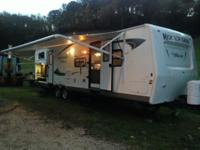 Immaculate fiberglass travel trailer w/ aluminum