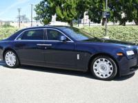 Gorgeous 2012 Rolls-Royce Ghost EWB (Extended Wheel