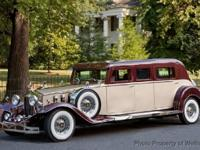 Rosewood Classic Coach is a custom unique limo and