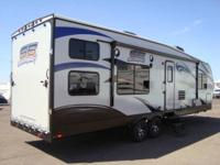 2012 Sand Sport 280FS Toy Hauler with Super Man Pkg. #