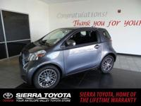 Come see this 2012 Scion iQ 3DR HB. Its Variable