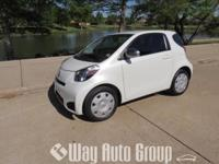 YOU ARE VIEWING A 2012 SCION IQ THAT IS WHITE IN COLOR