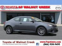 Scion Certified and 6-Speed Automatic. Super gas saver!