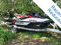 2012 Sea-Doo 215 Wake Pro PWC ENGINE: 1,494 cc