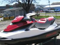 ,.2012 SEA DOO GTX 21587 HOURS. SUPERCHARGED MOTOR WITH