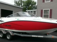 2012 Sea Doo Challenger 210. It was purchased brand new