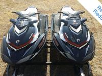 PAIR of Sea Doo (Duplicates) 2 Passenger Wave runners