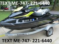This jet ski is professionally maintained and