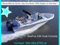 Description 2012 Sea Fox 236 Dual Console The standard
