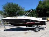 2012 SEARAY 185 SPORT RUNABOUT, THIS BOAT IS CLEAN,