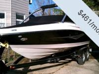- Stock #079779 - This one owner Sea Ray 210 SLX is an