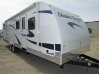 2012 Shadow Cruiser 280QBS 28' Travel Trailer. Great
