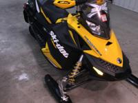 2012 SKIDOO MXZ 600 E-TEC WITH AROUND 745 MILES ON IT