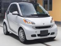 Certified Pre-Owned!! Crystal White Fortwo Passion RWD,