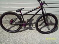 """Brand new 26"""" 2012 Specialized P1 dirt/jump bike, rode"""