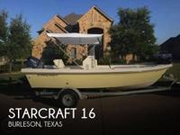 2012 Starcraft 16 - Stock #086713 -