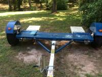 2012 Stehl Tow Dolly with surge disc brakes. Includes