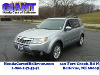 This 2012 Subaru Forester 2.5X Limited AWD is proudly