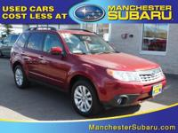 Familiarize yourself with the 2012 Subaru Forester!