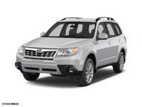 Treat yourself to this 2012 Subaru Forester LIMITED,