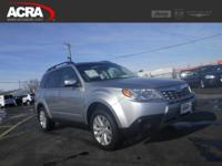 Used 2012 Subaru Forester, stk # 1879, key features