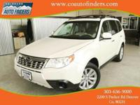 2012 White Subaru Forester 2.5X For Sale in