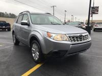 Options:  2012 Subaru Forester 4Dr Automatic 2.5X