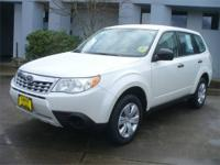 This 2012 Subaru Forester 2.5X is offered to you for
