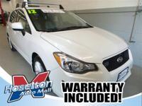 Exterior Color: white, Body: Hatchback, Engine: 2.0L H4