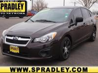 This 2012 Subaru Impreza Wagon 2.0 i is proudly