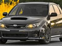 WRX trim. CARFAX 1-Owner. iPod/MP3 Input, Bluetooth, CD