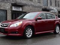 Take command of the road in the 2012 Subaru Legacy!