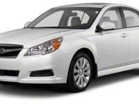 2012 Subaru Legacy 2.5i Limited For