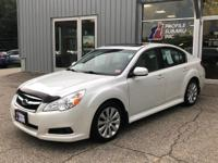 Load your family into the 2012 Subaru Legacy!