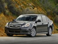 WOW!!! Check out this. 2012 Subaru Legacy 2.5i Ice