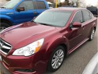 Accident Free Carfax History. Legacy 2.5i Limited,