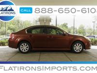 Flatirons Imports is offering this 2012 Subaru Legacy