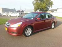 This 2012 Subaru Legacy 2.5i Premium is offered