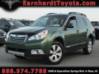 We are happy to offer you this 2012 Subaru Outback 2.5i