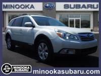 Introducing the 2012 Subaru Outback! It prioritizes