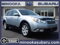 Treat yourself to a test drive in the 2012 Subaru