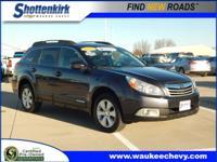 Options:  2012 Subaru Outback 2.5I Premium|Awd 2.5I