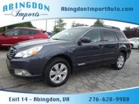 Options:  2012 Subaru Outback 2.5I Premium|Awd 2.5I